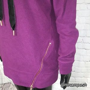 Xersion Sweaters - 🛍$10 SALE🛍Xersion Purple Hooded Neck Sweatshirt
